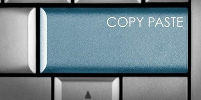 Bloglarda Kopyala/Yapıştır Salgını!