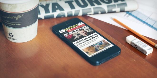 Mobil cihazlara uygun yayıncılık