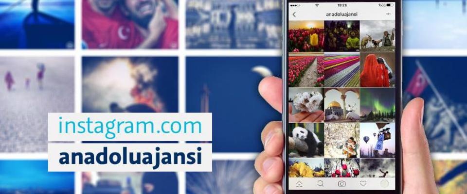 Anadolu Ajansı Instagram'da ilk 3'te
